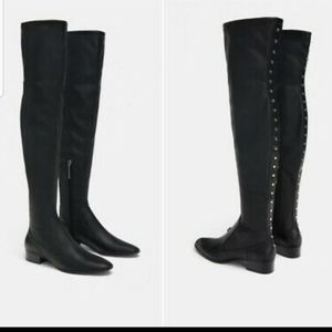 NWT Zara knee soft boots